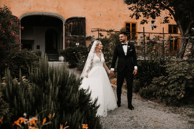 Beautiful Wedding in Tuscany Italy