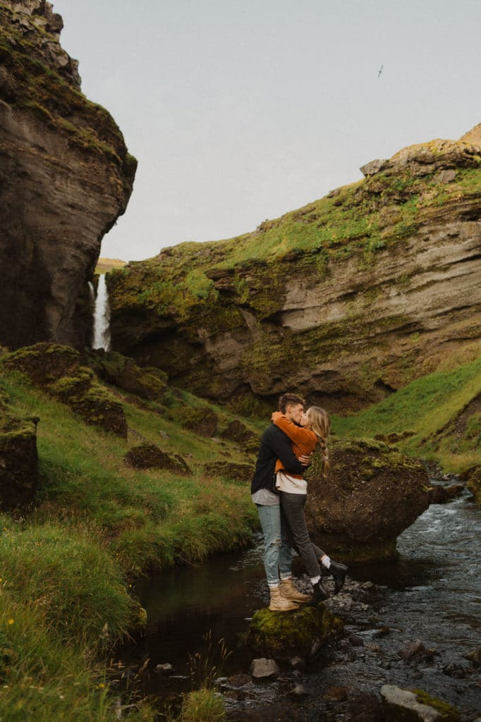 Iceland Couple Shoot by Shelly Pate Photography